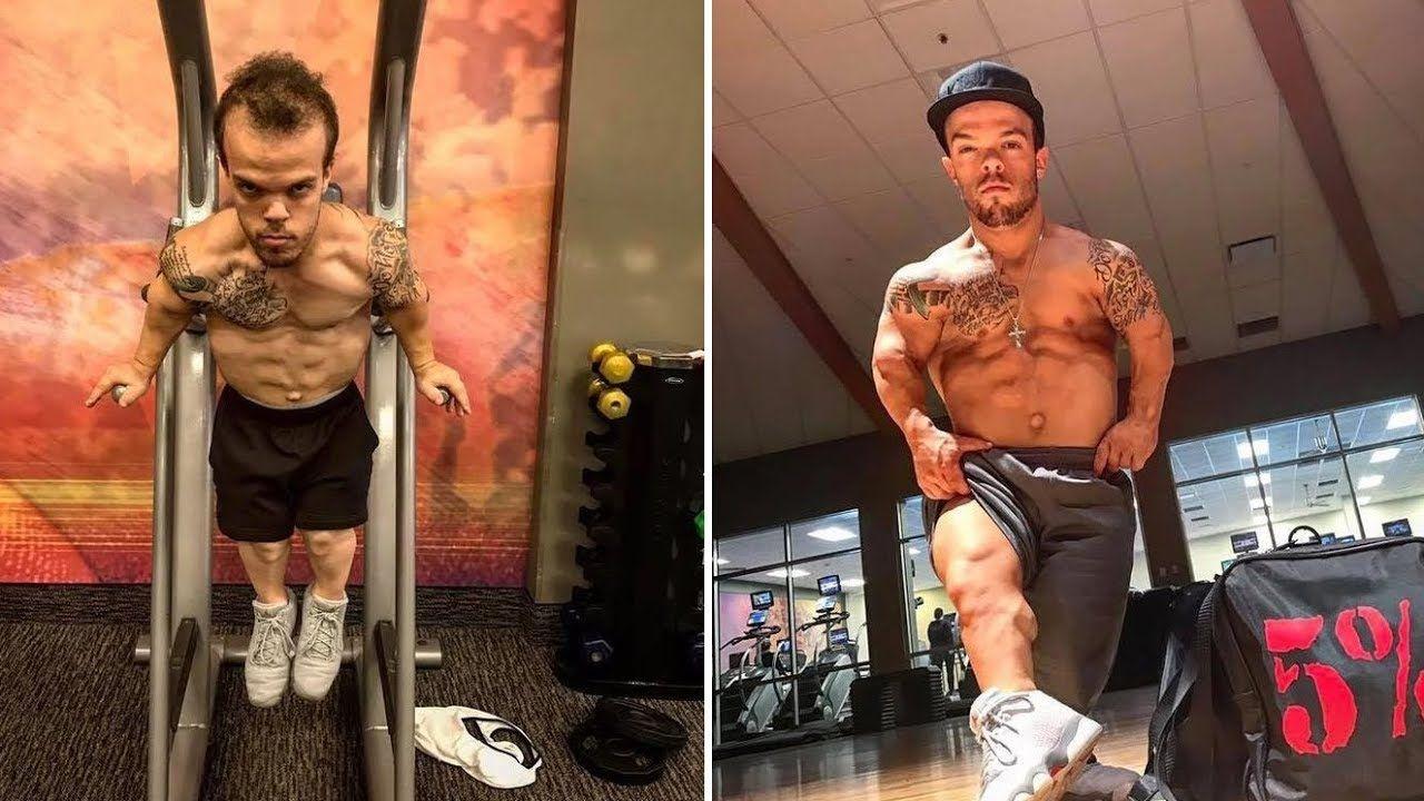 Earnie reccomend Midget body builder