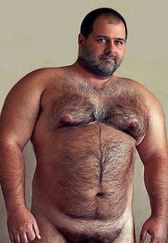 bear men naked Chubby
