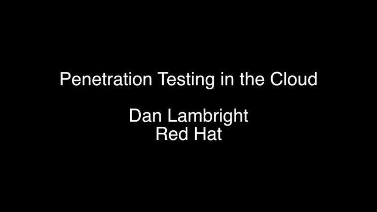 Penetration testing video