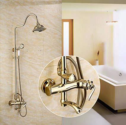 Retro golden shower