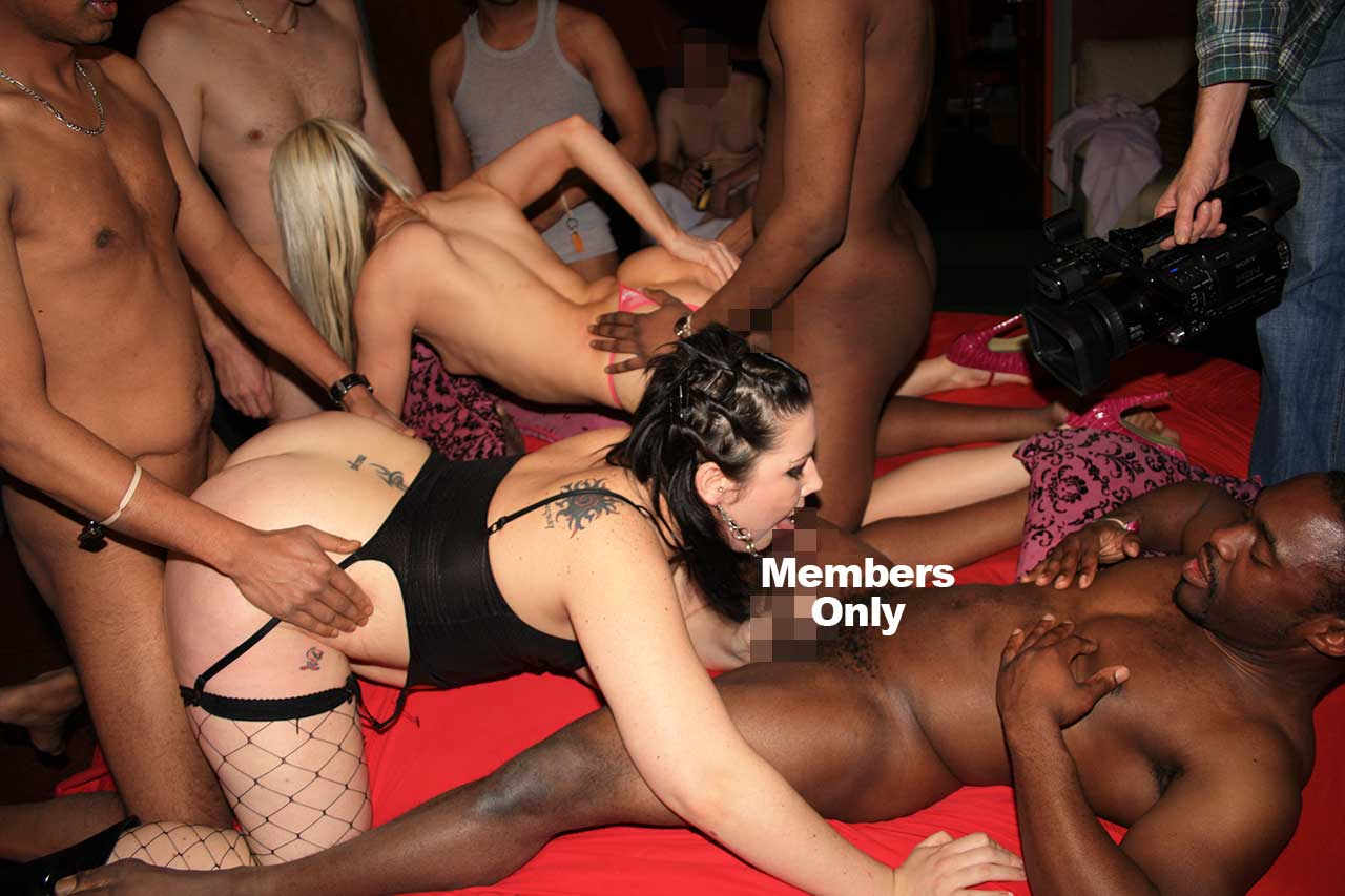 British orgy party