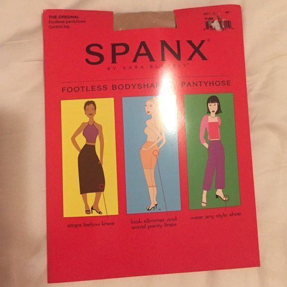 best of Shaping Spanx footless pantyhose body