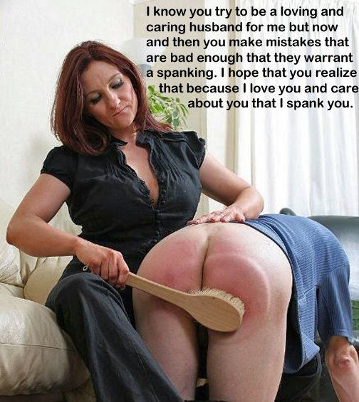 Strict women who spank your husband