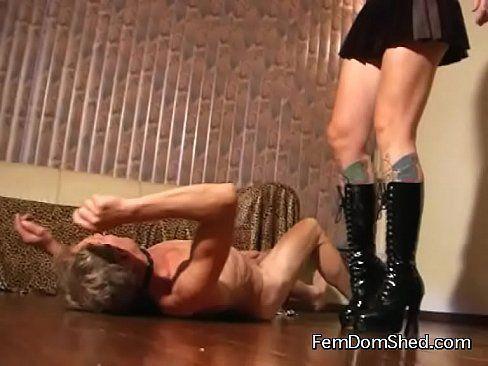 Mr. P. reccomend Ultra violent kick in the face femdom brutal