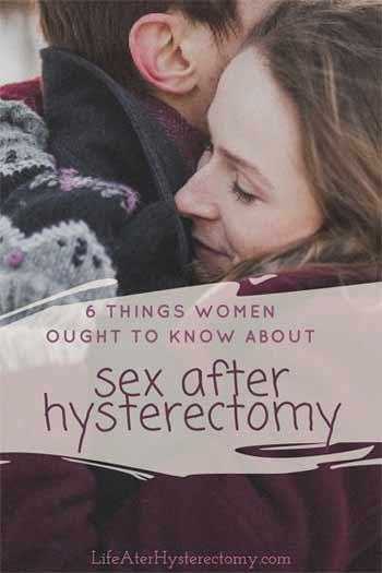 Opinion, orgasim hysterectomy sex congratulate, magnificent idea