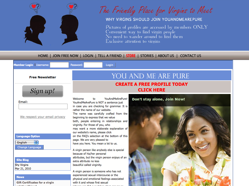 best of Virginity Website about